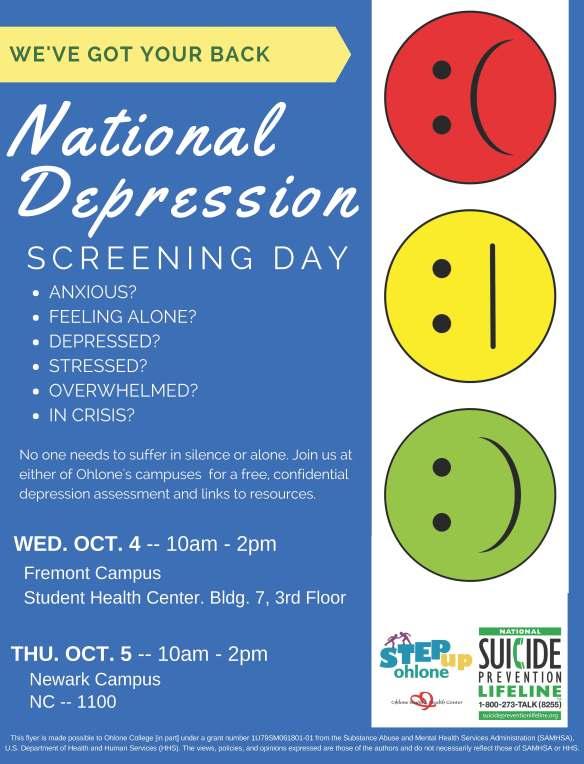 Copy of Depression Screening Flyer II (2)