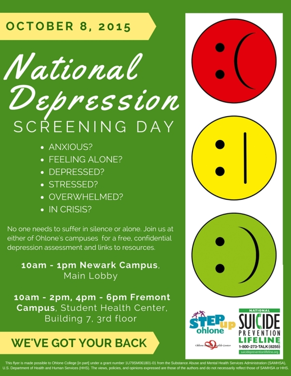 Depression Screening Flyer II-2