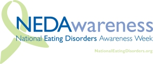 National Eating Disorder Awareness Week Logo