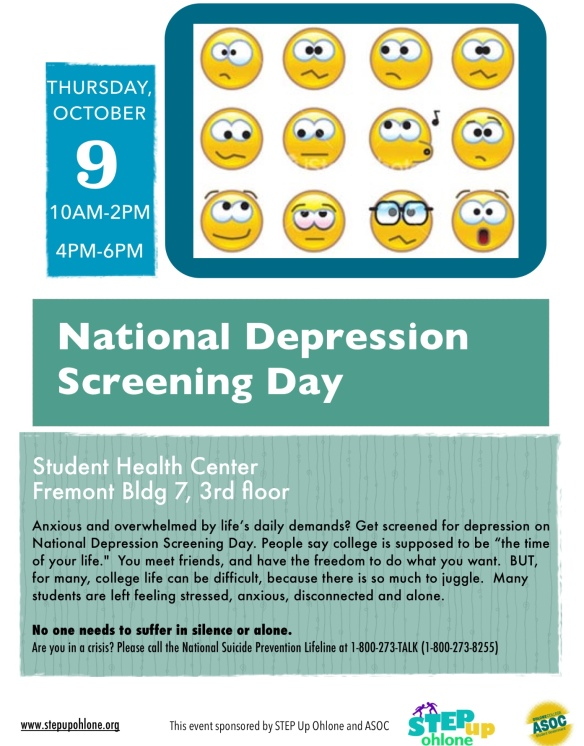Depression Screening Flyer