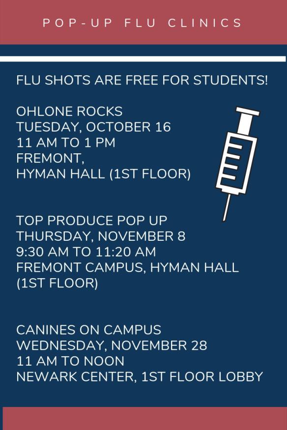 Pop-up Flu Clinics